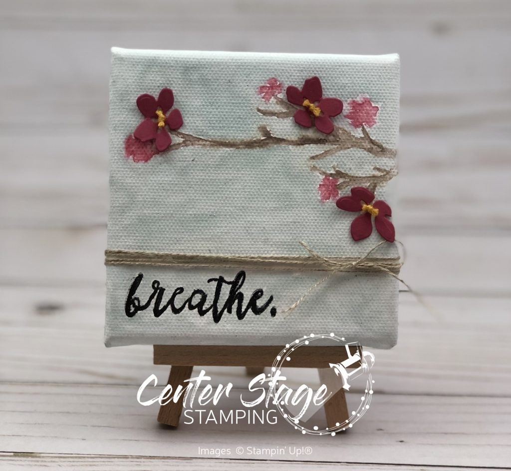 Breathe Canvas - Center Stage Stamping