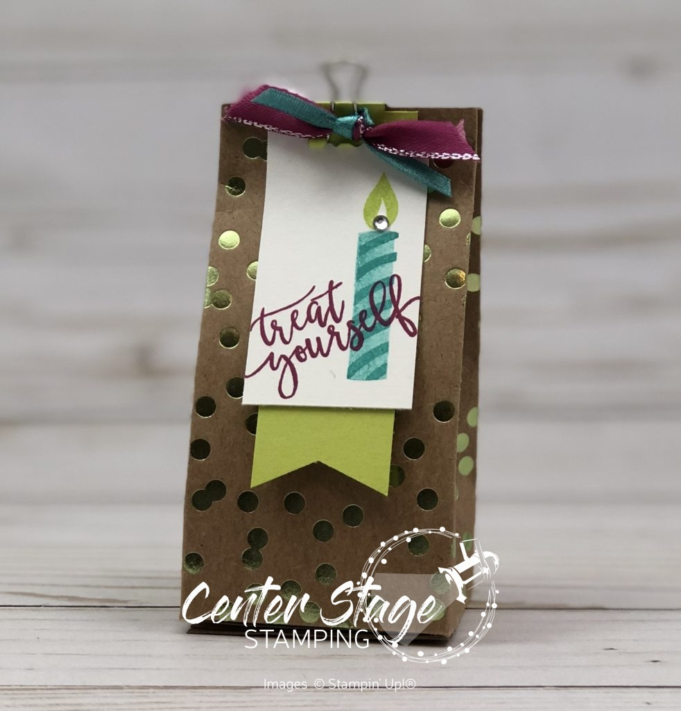 treat yourself box - Center Stage Stamping