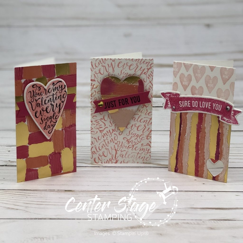 Valentine Trio - Center Stage Stamping