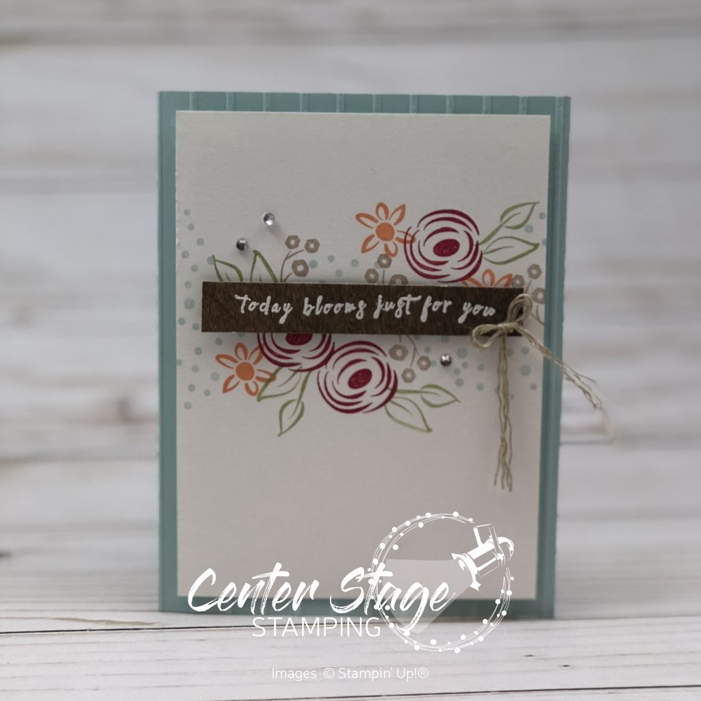 Perennial Birthday - Center Stage Stamping