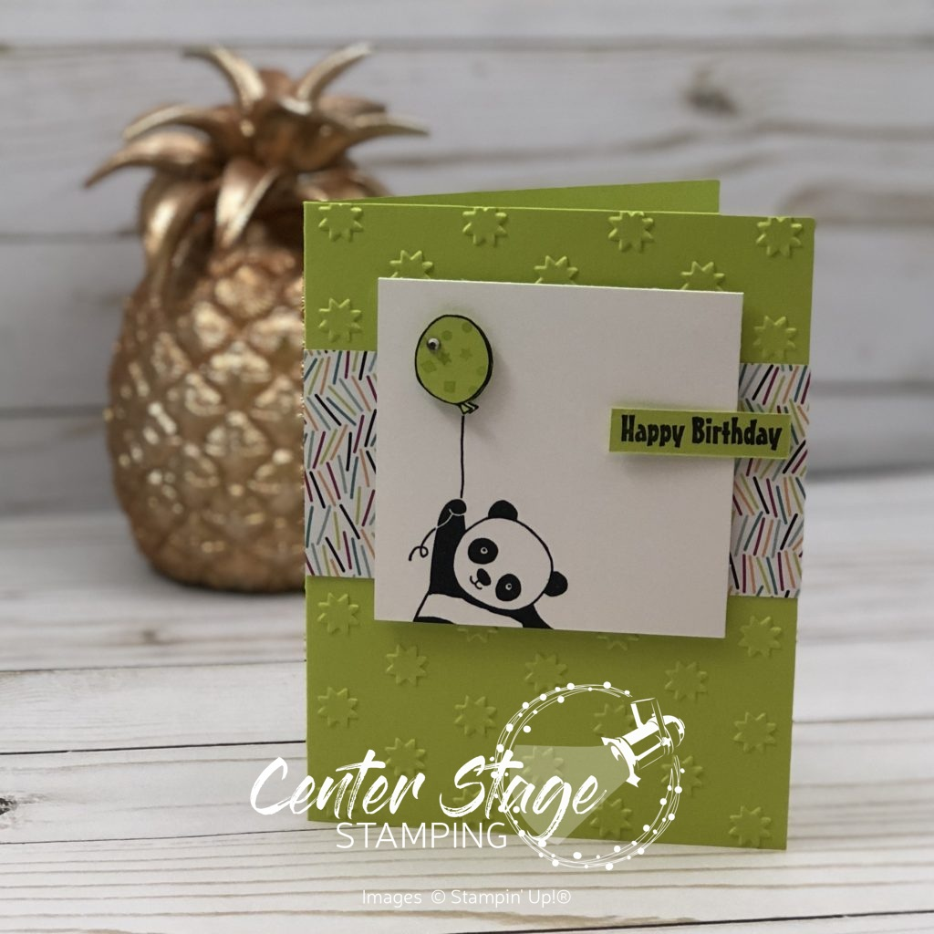 Party Panda - Center Stage Stamping