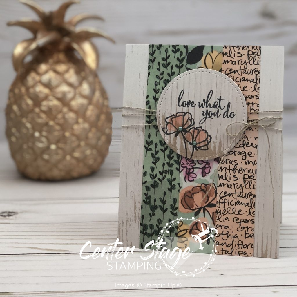 Love What You Do - Center Stage Stamping