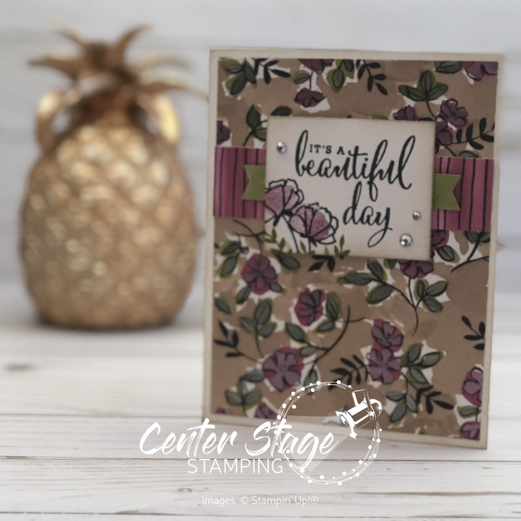 Beautiful Day - Center Stage Stamping