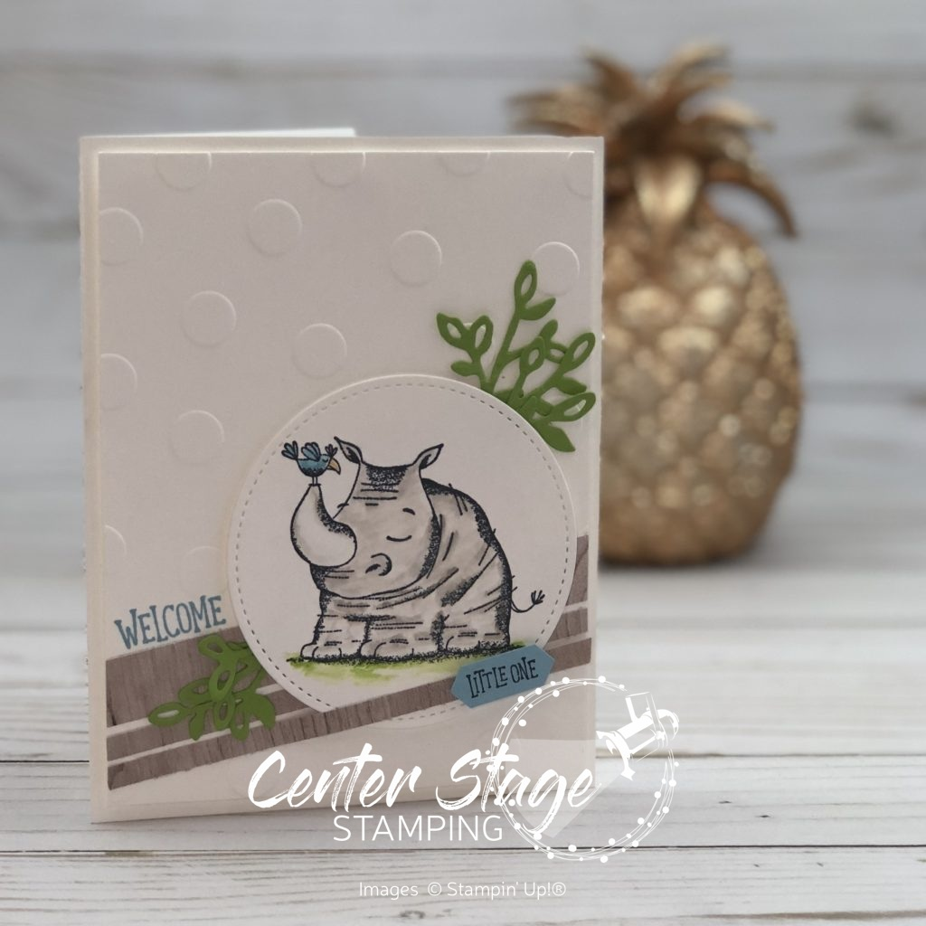 Welcome little one Animal Outing - Center Stage Stamping