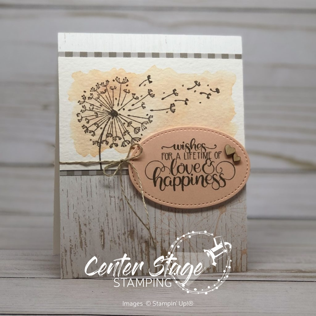 Lifetime of Love and Happiness - Center Stage Stamping