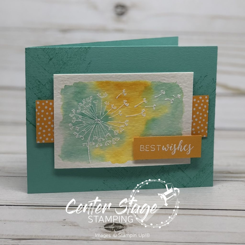 Dandelion Wishes - Center Stage Stamping