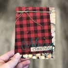 Buffalo Check Christmas - Center Stage Stamping