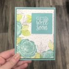 Healing Hugs: get well soon - Center Stage Stamping