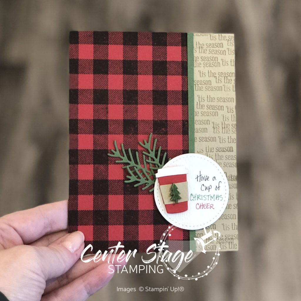 Have a cup of Cheer - Center Stage Stamping