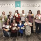 Stamp-n-Storage Oct Creative Class group photo