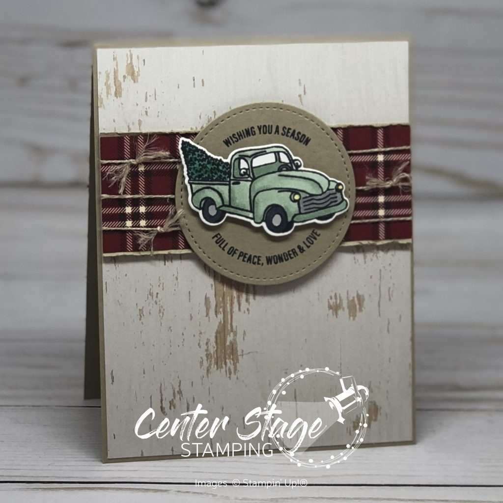 Farmhouse Christmas: tuck - Center Stage Stamping