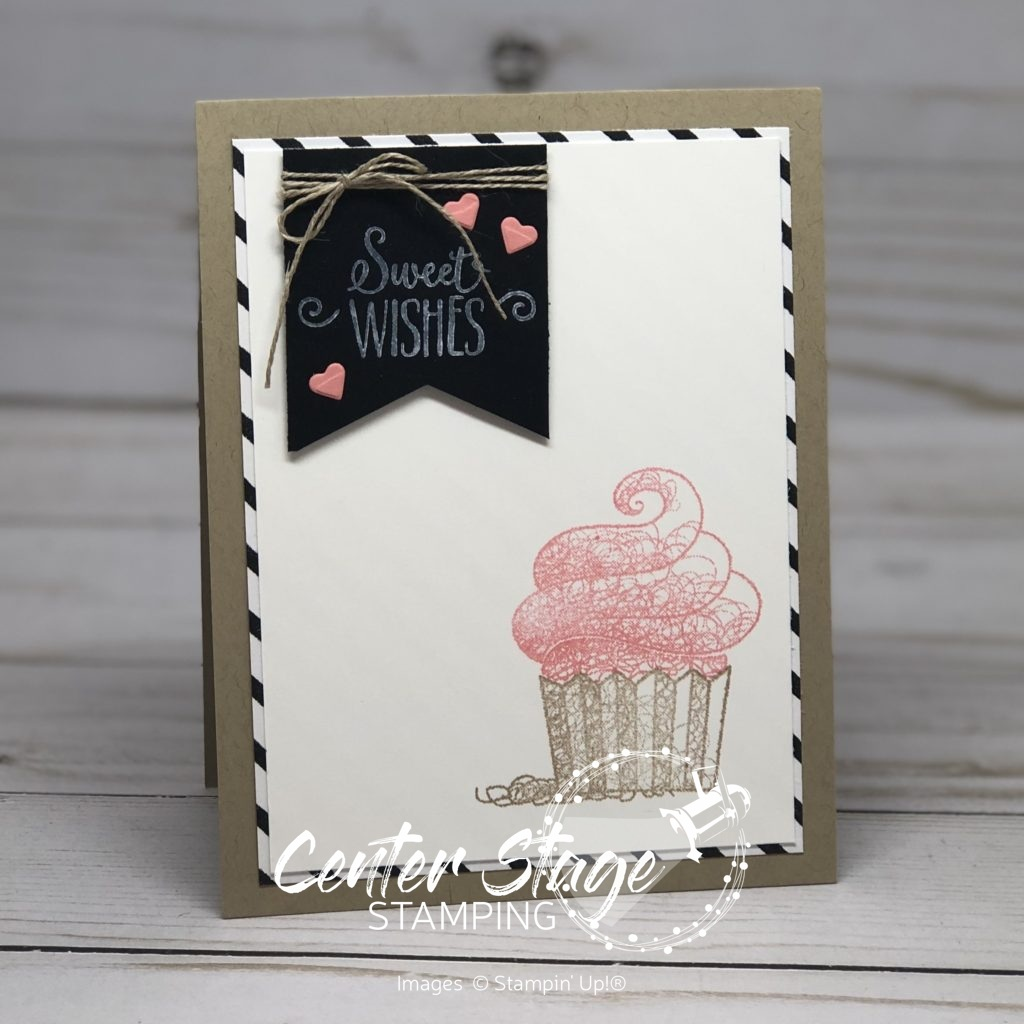 Hello Cupcake: Sweet Wishes - center Stage Stamping