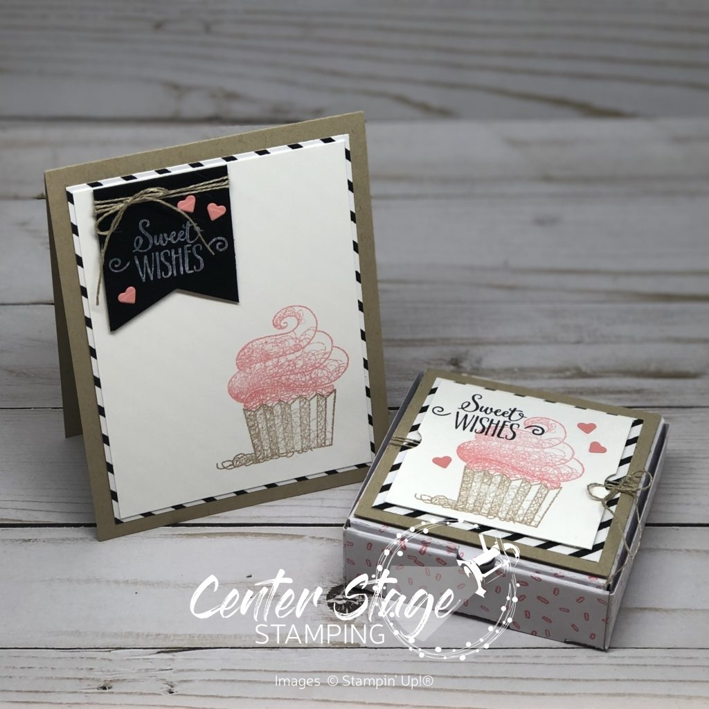 Hello Cupcake: Sweet Wishes duo - Center Stage Stamping